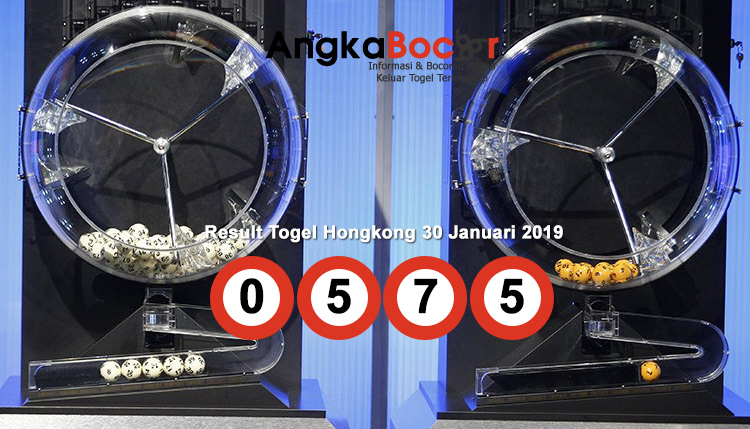 Result Togel Hongkong 4D | 30 Januari 2019, Hari Rabu