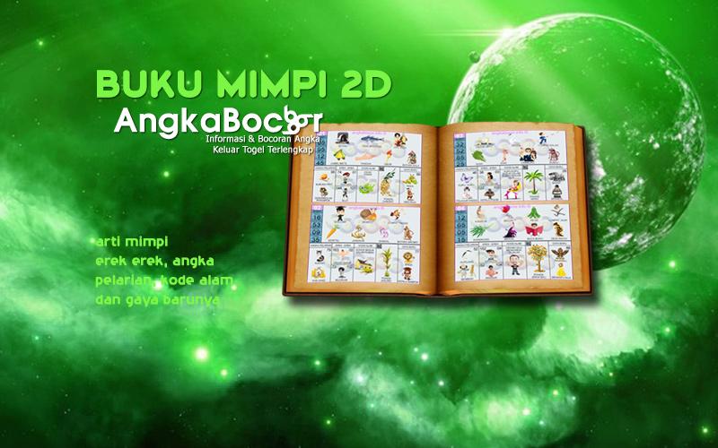 Buku Mimpi 2D Terlengkap Gambar & Abjad