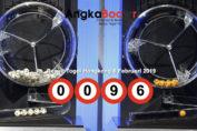 Result Togel Hongkong 4D | 6 Februari 2019, Hari Rabu
