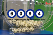 Result Togel Singapore 4D | 10 Februari 2019, Hari Minggu