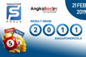 Result Togel Singapore 4D | 21 Februari 2019, Hari Kamis