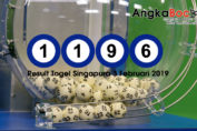Result Togel Singapore 4D | 3 Februari 2019, Hari Minggu Angkabocor