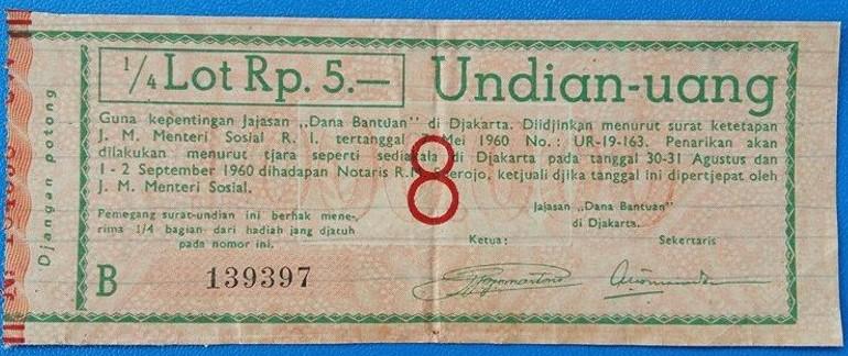 tiket nalo 1960