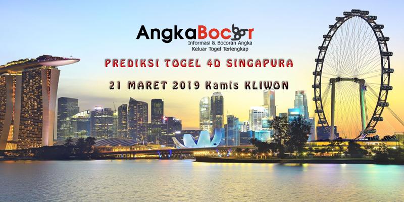 Singapura 21 Maret 2019