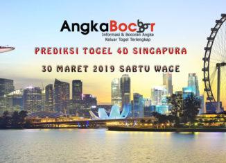 Singapura 30 Maret 2019