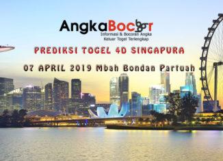 Singapura 07 April 2019