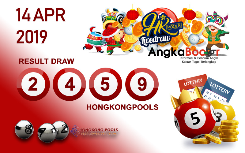 Result Togel HK 4D 14 April 2019, Hari Minggu