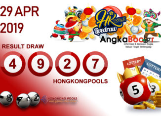 Result HK 4D 29 April 2019, Hari Senin