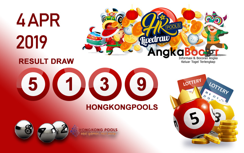 Result HK 4D 4 April 2019, Hari Kamis