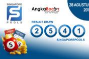 Result SGP 4D 28 Agustus 2019, Hari Rabu Angkabocor