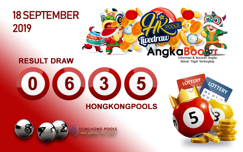 Result HK 4D 18 September 2019, Hari Rabu angkabocor
