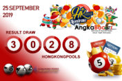Result HK 4D 25 September 2019, Hari Rabu angkabocor