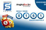 Result SGP 4D 30 November 2019, Hari Sabtu Angkabocor