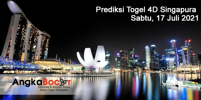 Prediksi Togel SGP Mbah Bondan Terjitu 17 Juli 2021